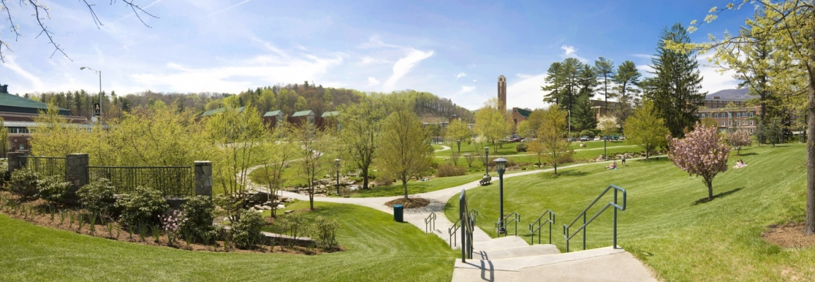 Durham Park on Appalachian State's campus